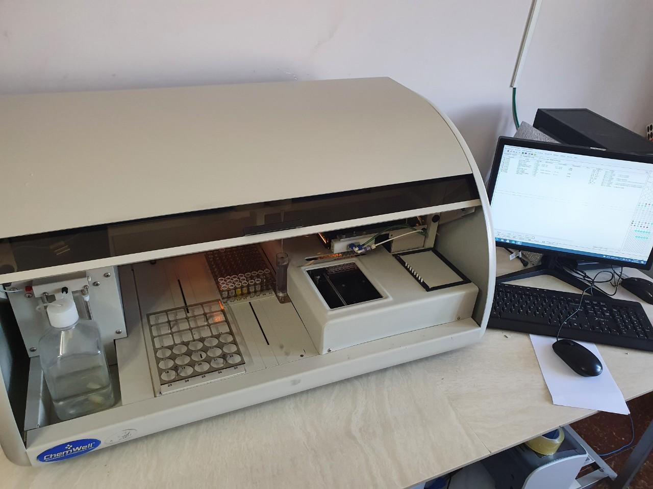 Máy XN sinh hóa tự động Chemwell 2910